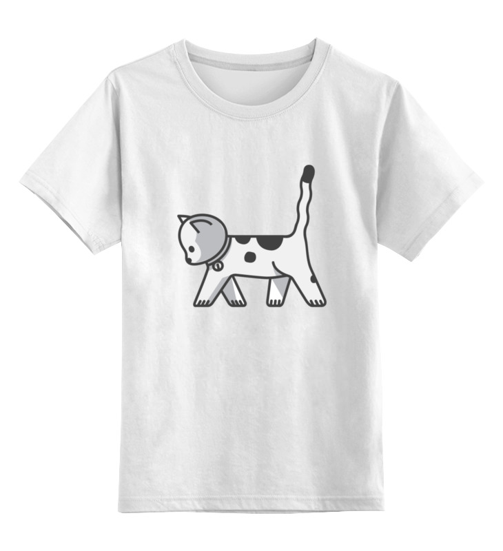 Детская футболка классическая унисекс Printio Милый котёнок детская футболка классическая унисекс printio котёнок по имени гав