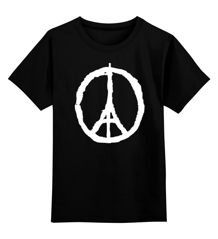 Детская футболка классическая унисекс Printio Париж детская футболка классическая унисекс printio париж франция