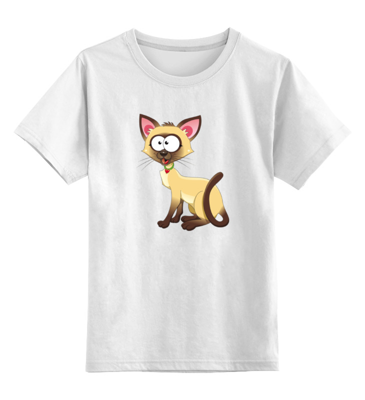 Фото - Printio Сиамская кошечка детская футболка классическая унисекс printio сиамская кошечка