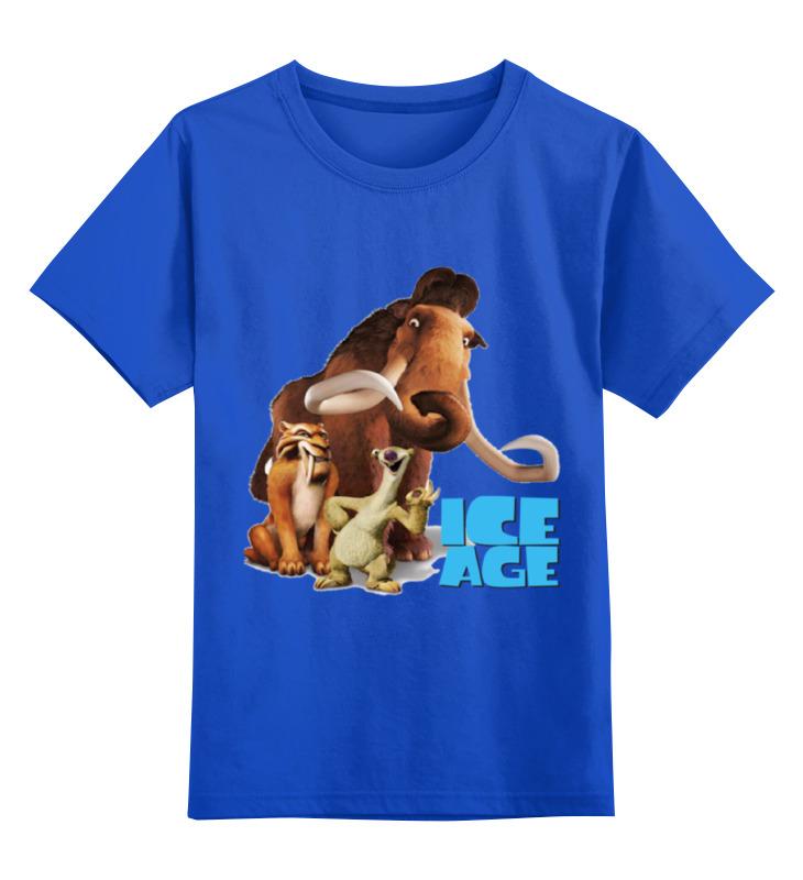 Детская футболка классическая унисекс Printio Ледниковый период ледниковый период журнал с игрушкой