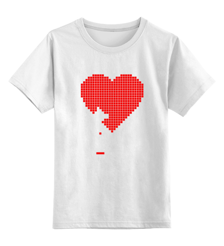 Printio Пиксельное сердце (8-бит) цена и фото