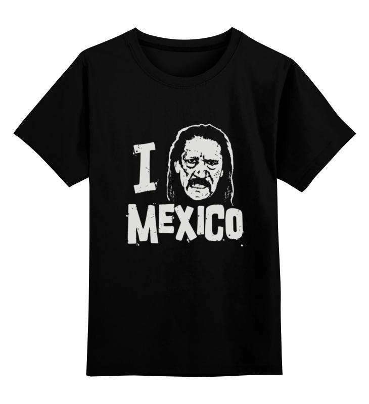 Детская футболка классическая унисекс Printio Люблю мексику цена и фото