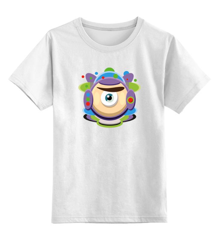 Детская футболка классическая унисекс Printio Базз лайтер (история игрушек)