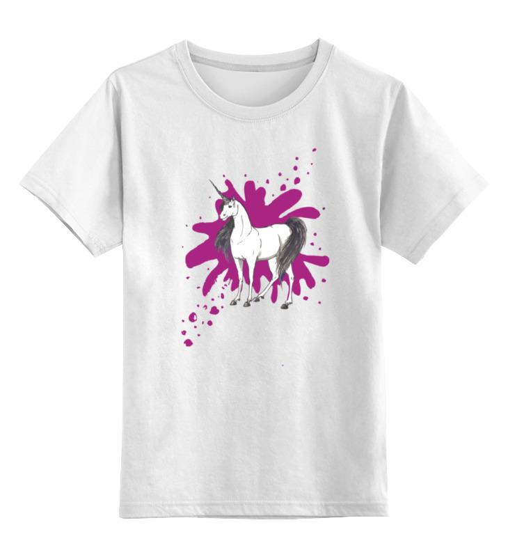 Детская футболка классическая унисекс Printio Единорожка детская футболка классическая унисекс printio ты моя мамочка