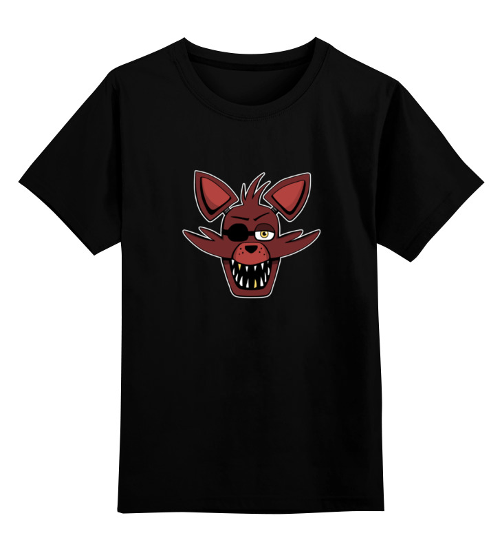 Детская футболка классическая унисекс Printio Foxy (пять ночей у фредди) лиса декоративная foxy