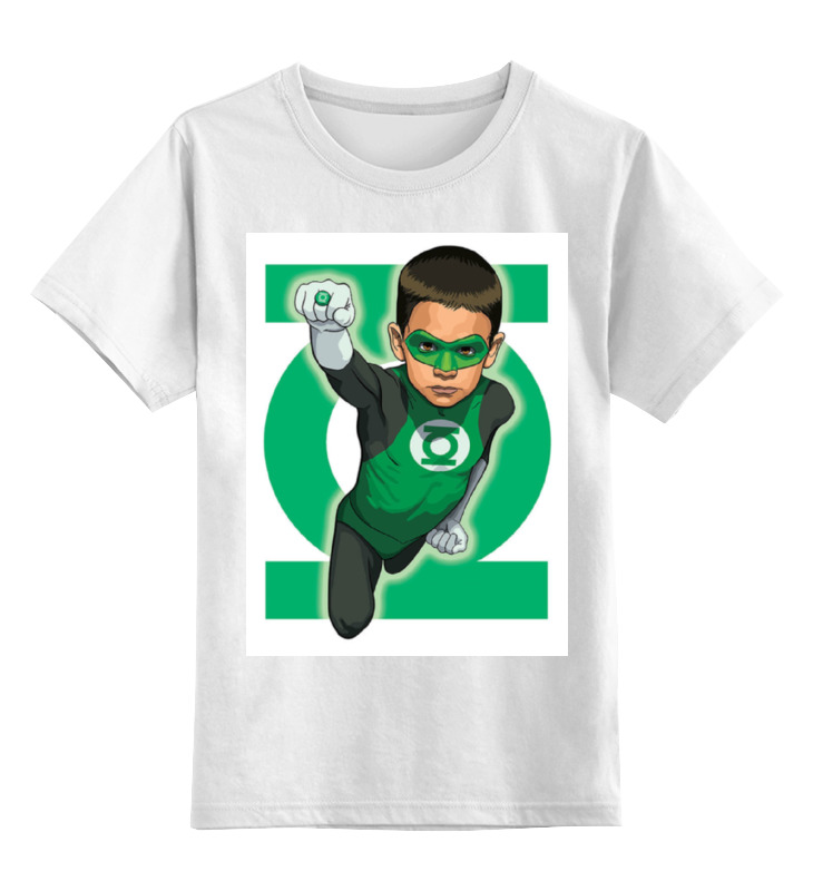 Детская футболка классическая унисекс Printio Зелёный фонарь / green lantern ultrafire aaa 1 2v 800mah rechargeable ni mh batteries green black 4 pcs