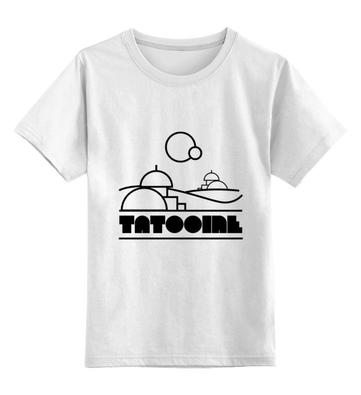 Детская футболка классическая унисекс Printio Татуин (tatooine) детская футболка классическая унисекс printio татуин tatooine