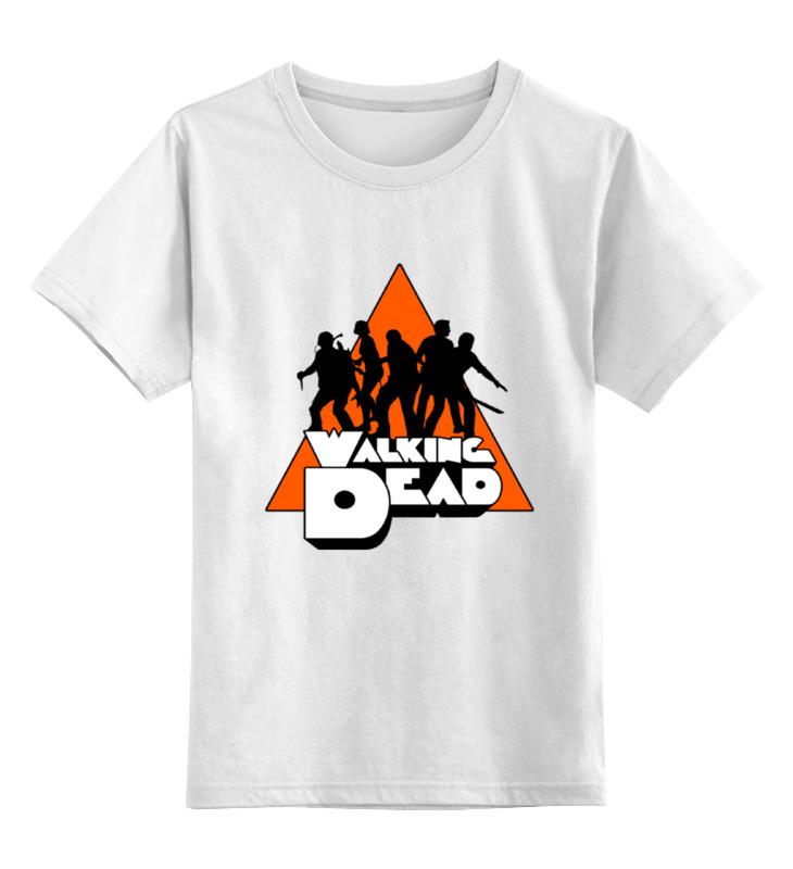 Детская футболка классическая унисекс Printio Ходячие мертвецы (the walking dead) детская футболка классическая унисекс printio the walking dead