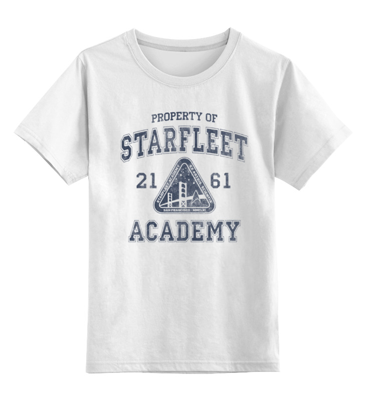Детская футболка классическая унисекс Printio Starfleet academy regal academy reg00300 королевская академия кукла джой 30 см
