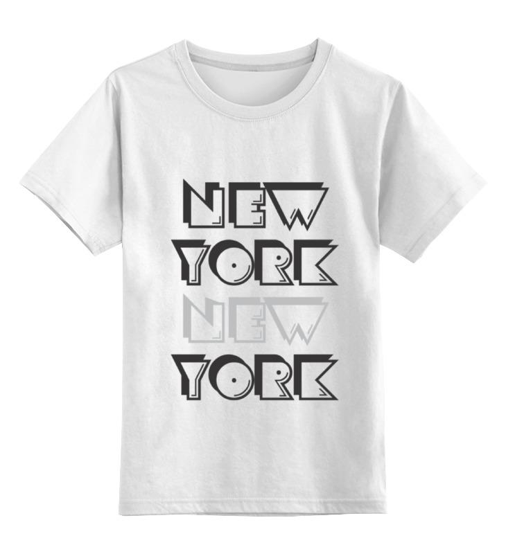 Детская футболка классическая унисекс Printio New york футболка стрэйч printio new york