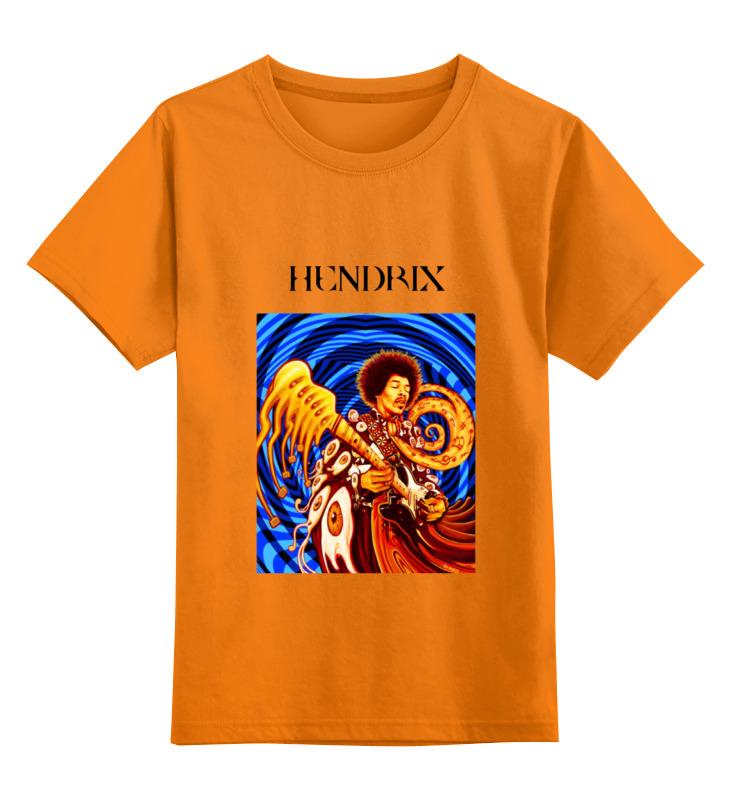 Детская футболка классическая унисекс Printio jimi hendrix плектр dunlop jimi hendrix 12 medium
