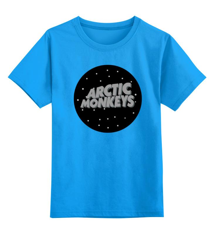 Детская футболка классическая унисекс Printio Arctic monkeys футболка arctic monkeys