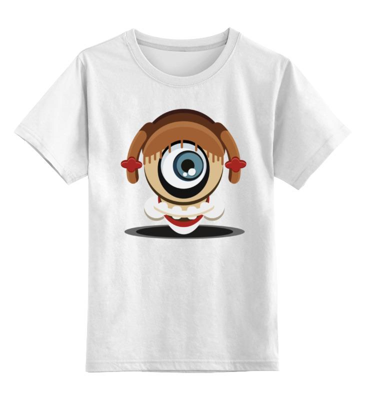 Детская футболка классическая унисекс Printio Кожаное лицо