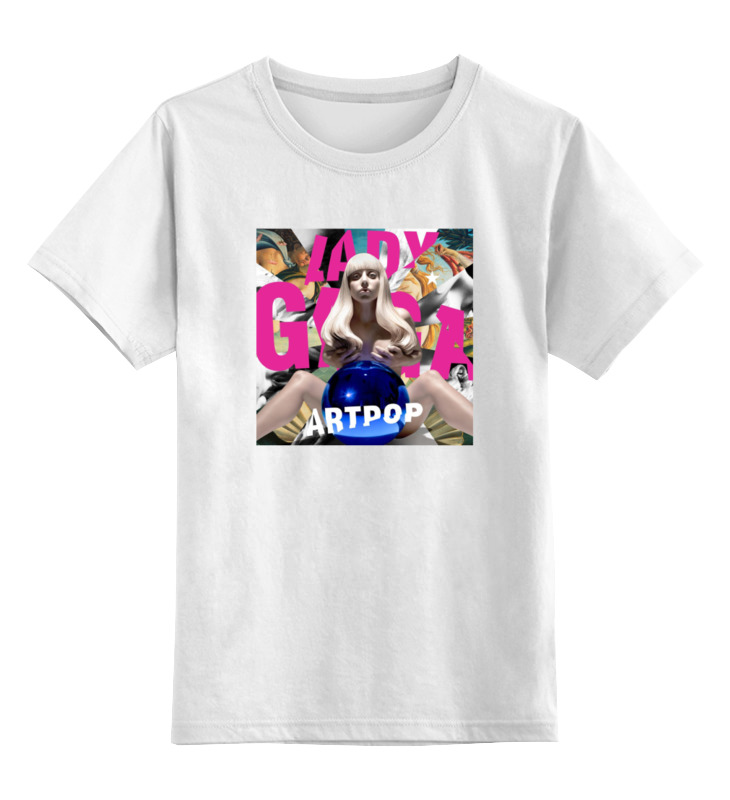 Детская футболка классическая унисекс Printio Lady gaga детская футболка классическая унисекс printio мачете
