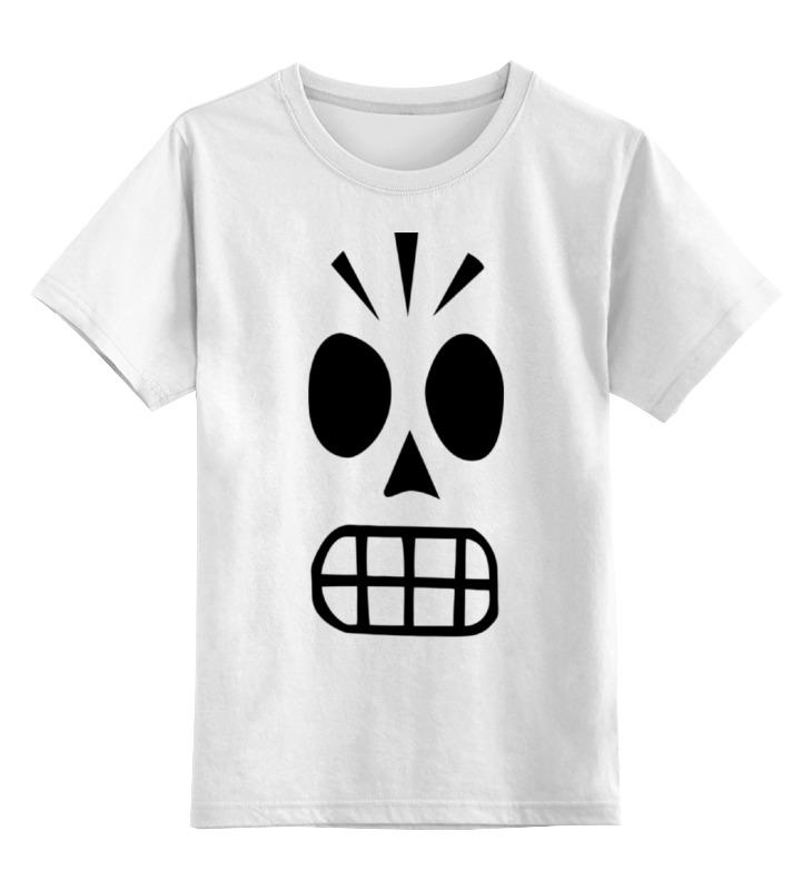 Детская футболка классическая унисекс Printio Грим фанданго цена