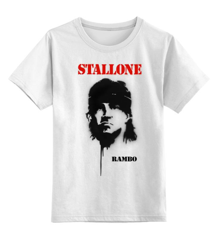 Детская футболка классическая унисекс Printio Sylvester stallone sylvester