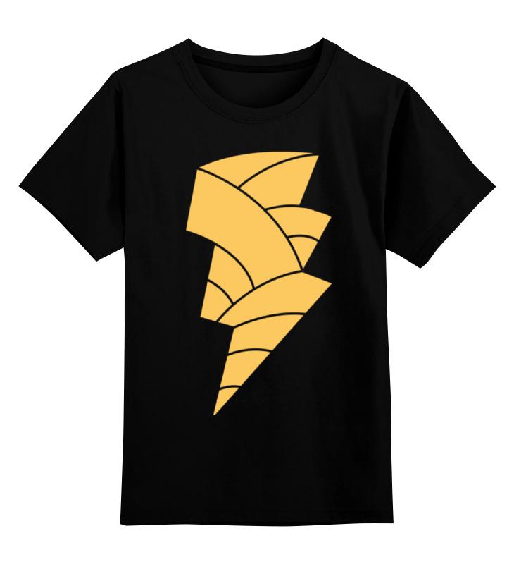 Детская футболка классическая унисекс Printio Чёрный адам (black adam) adam