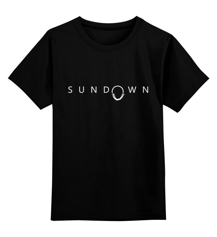 Детская футболка классическая унисекс Printio Sundown лонгслив printio sundown