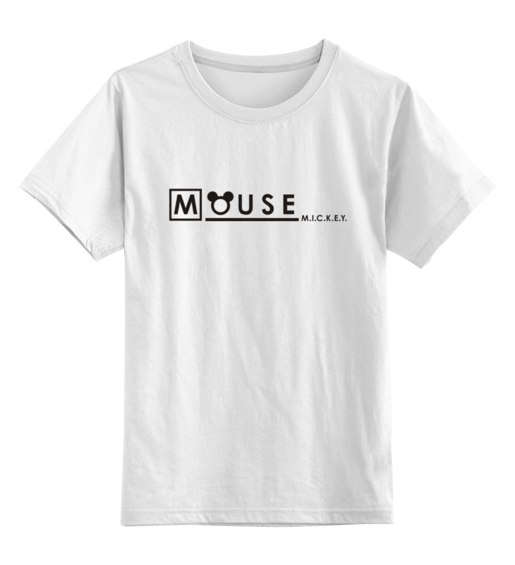 Детская футболка классическая унисекс Printio Mouse mickey детская футболка классическая унисекс printio мачете