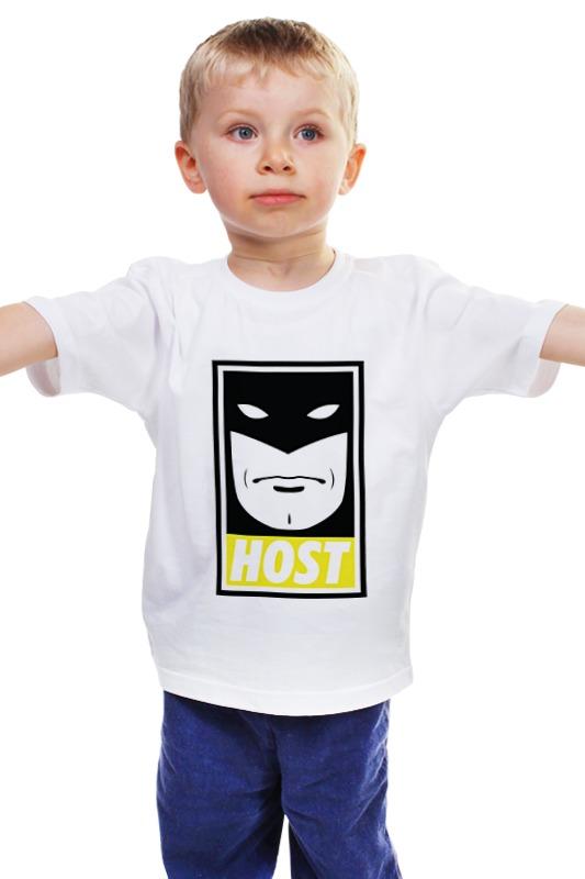 Детская футболка классическая унисекс Printio Космический призрак (space ghost) мика варбулайнен призрак записки библиотекаря фантасмагория