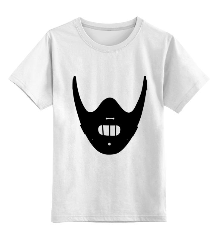 Детская футболка классическая унисекс Printio Ганнибал лектер (hannibal lectеr) купальник слитный женский lowry цвет голубой lss 22 размер 3xl 52 54