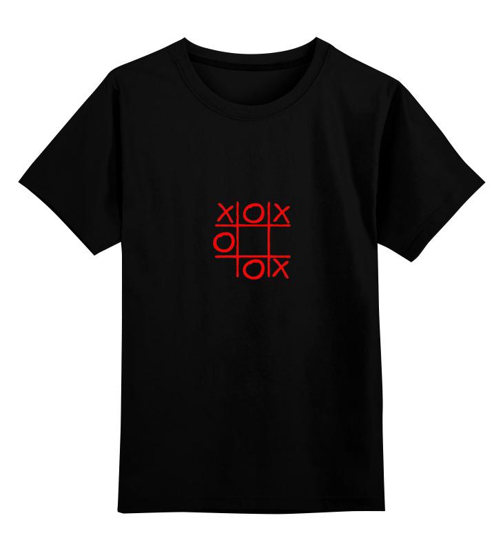 Детская футболка классическая унисекс Printio Крестики-нолики платье летнее printio крестики нолики