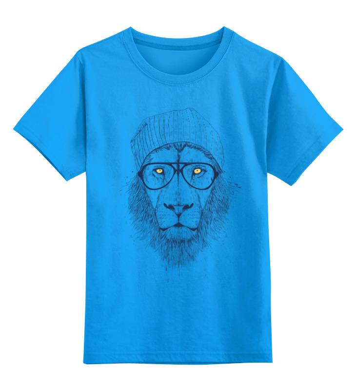 Детская футболка классическая унисекс Printio Лев в шапке детская футболка классическая унисекс printio рычащий лев