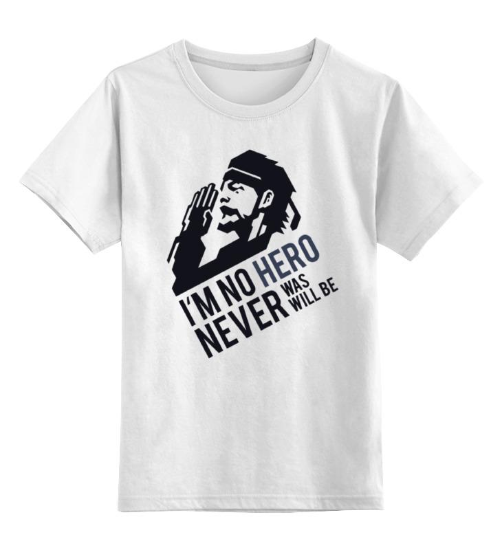 Детская футболка классическая унисекс Printio Solid snake (metal gear solid)