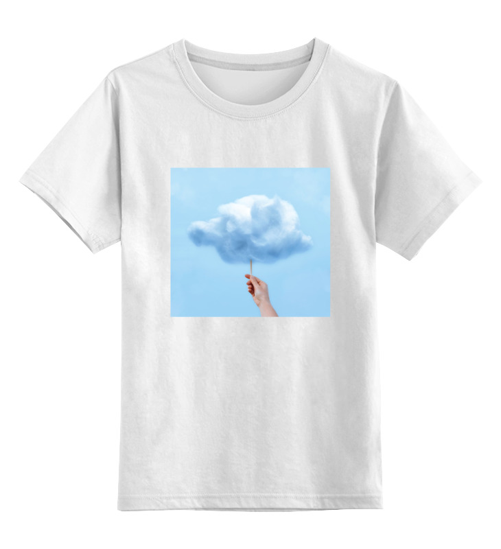 Детская футболка классическая унисекс Printio Детская облако детская футболка классическая унисекс printio слоник