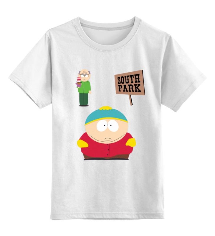 Фото - Детская футболка классическая унисекс Printio Эрик картман футболка рингер printio эрик картман