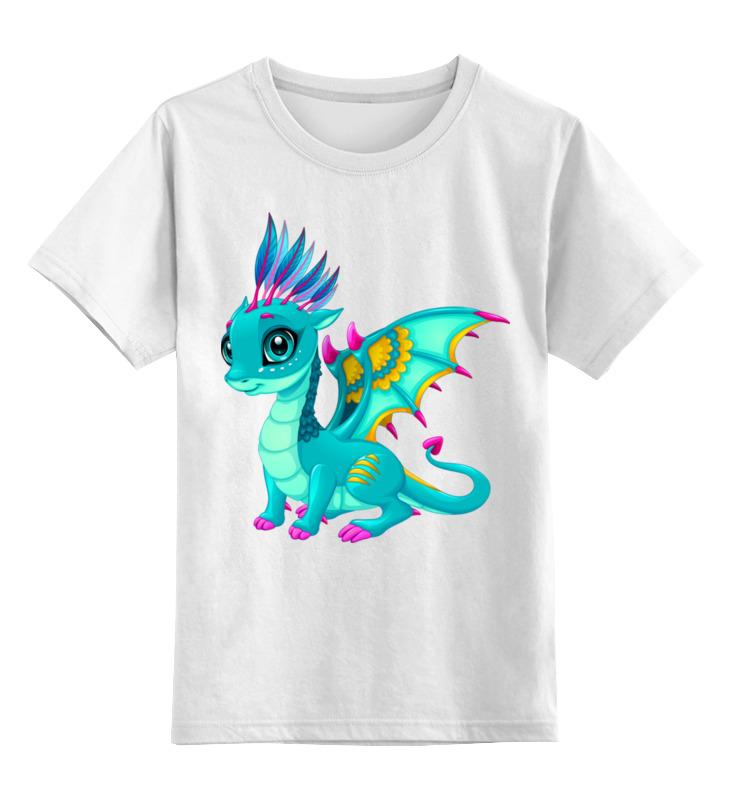 Детская футболка классическая унисекс Printio Дракоша набор дракоша 67189271