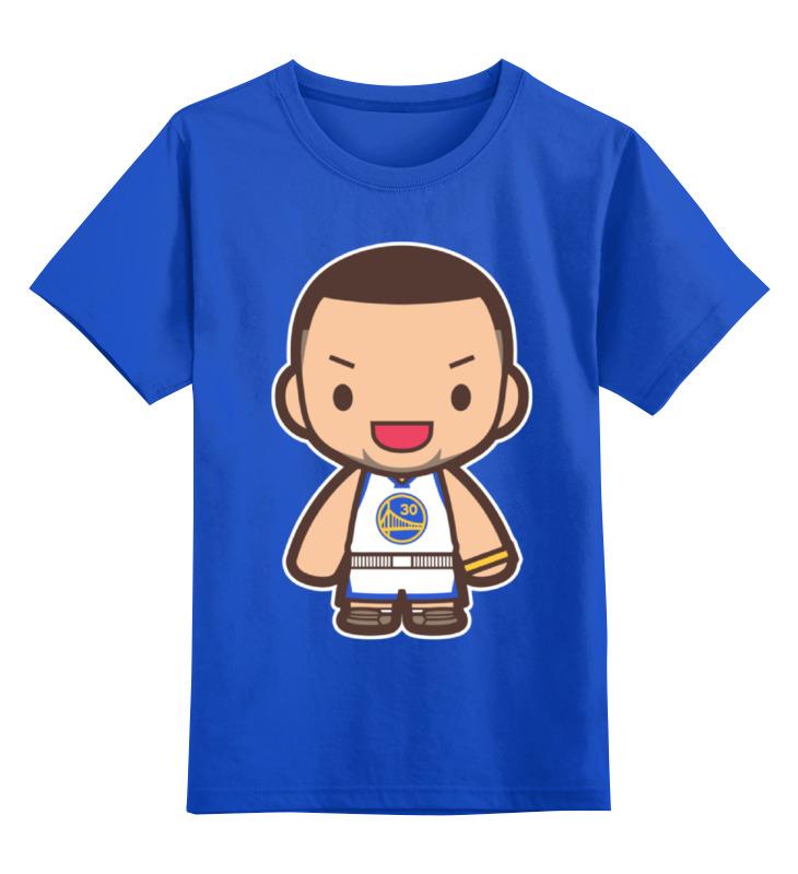 Детская футболка классическая унисекс Printio Стефен карри (голден стэйт уорриорз) туника liu jo f64127j7240 р s int