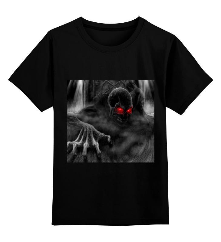 Детская футболка классическая унисекс Printio Поговорите со мной футболка юность беги со мной или от меня
