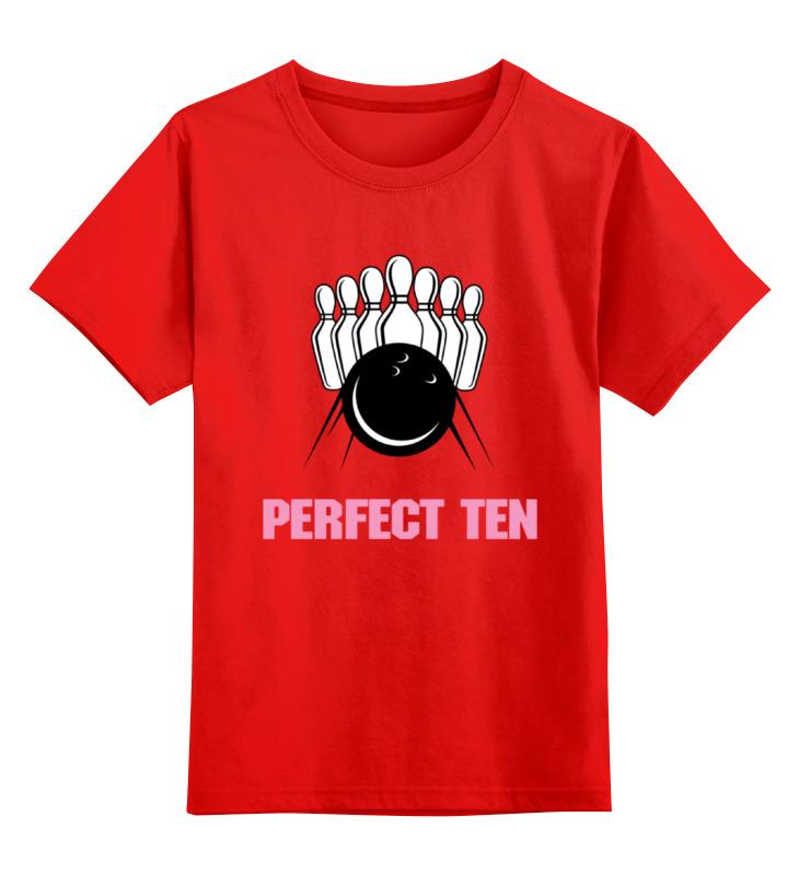 Детская футболка классическая унисекс Printio Страйк (боулинг) детская футболка классическая унисекс printio люблю боулинг