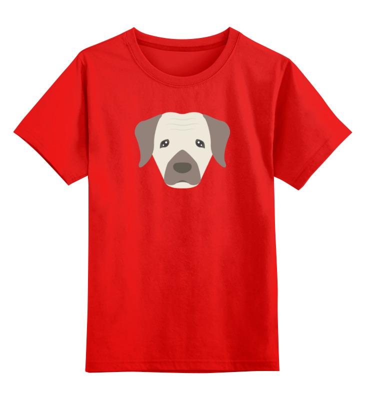 Детская футболка классическая унисекс Printio Пёсик