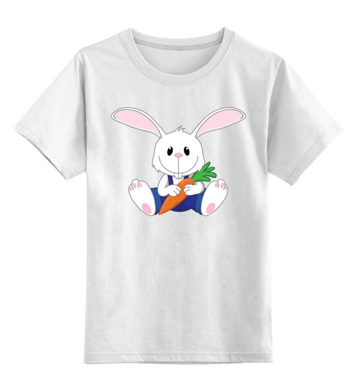 Printio Кролик-малыш детская футболка классическая унисекс printio розовый кролик