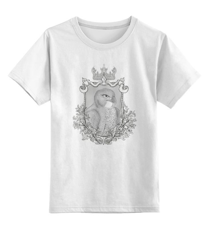 Детская футболка классическая унисекс Printio Тотем сокол футболка для беременных printio олень тотем