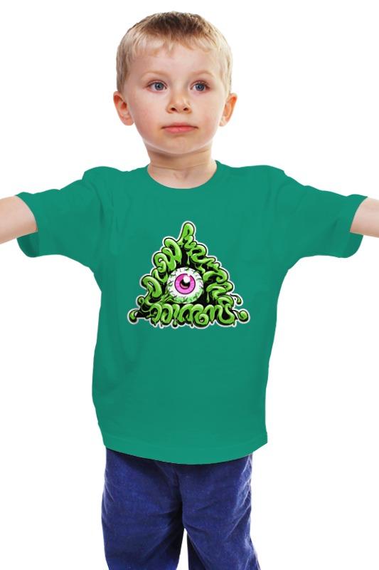 Детская футболка классическая унисекс Printio Zombie детская футболка классическая унисекс printio мачете