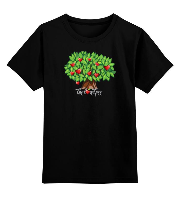 Детская футболка классическая унисекс Printio Icalistini the love tree дерево любви майка борцовка print bar дерево любви