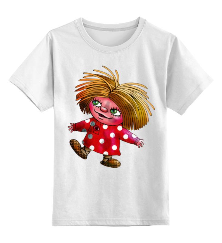 Детская футболка классическая унисекс Printio Домовенок кузя футболка стрэйч printio домовенок кузя