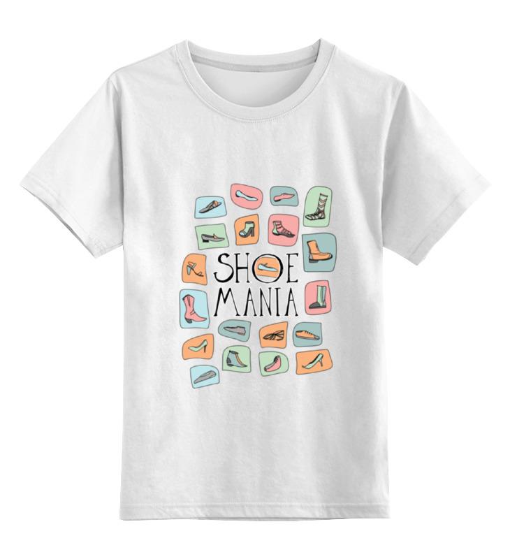 Детская футболка классическая унисекс Printio Обувная мания суши мания