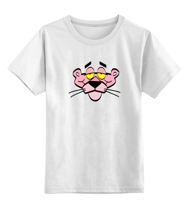 Детская футболка классическая унисекс Printio Розовая пантера футболка классическая printio розовая пантера