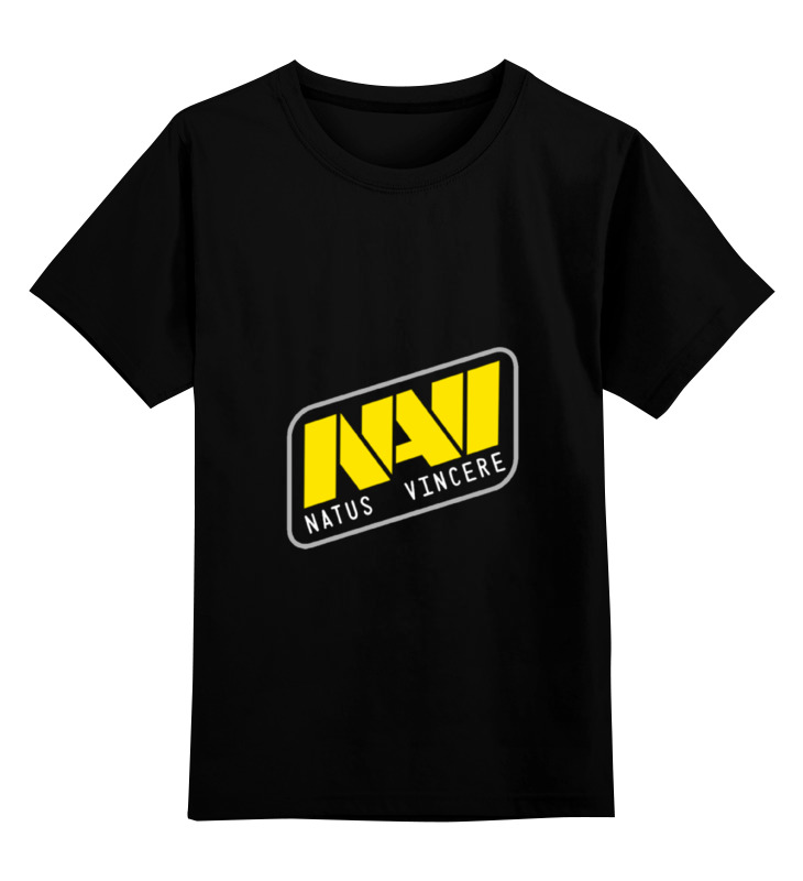 Детская футболка классическая унисекс Printio Natus vincere oem 10 144 430 na 636 sma walkie talkie baofeng 5r b6 px 888k uvd1p na 636