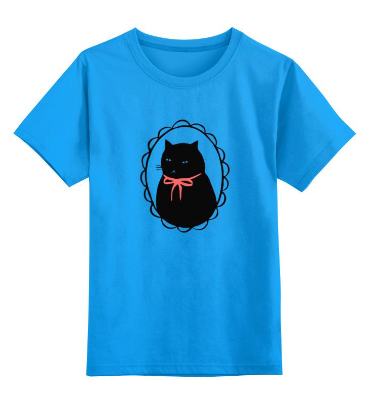 Детская футболка классическая унисекс Printio Милый котик