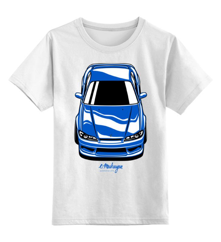 Детская футболка классическая унисекс Printio Silvia s15