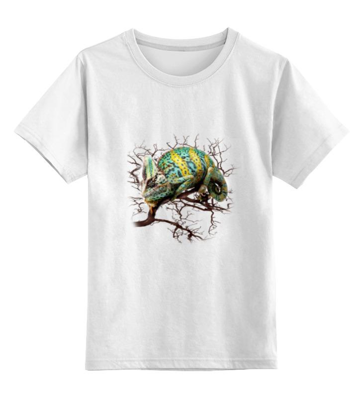 Детская футболка классическая унисекс Printio Хамелеон детская футболка классическая унисекс printio сделан в 80 е