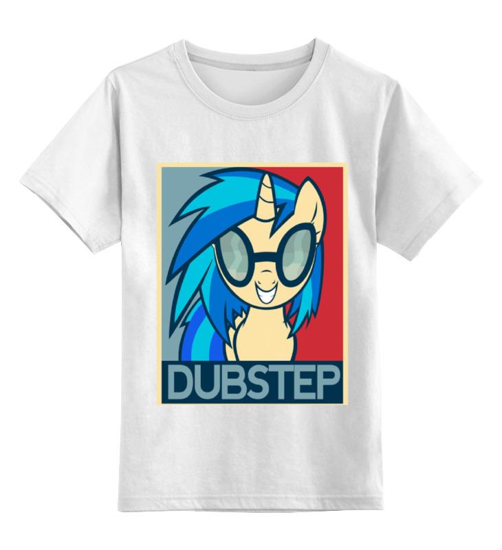 Детская футболка классическая унисекс Printio Dubstep футболка для беременных printio dubstep
