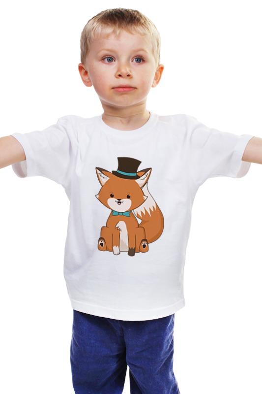 Детская футболка классическая унисекс Printio Лисичка детская футболка классическая унисекс printio мачете