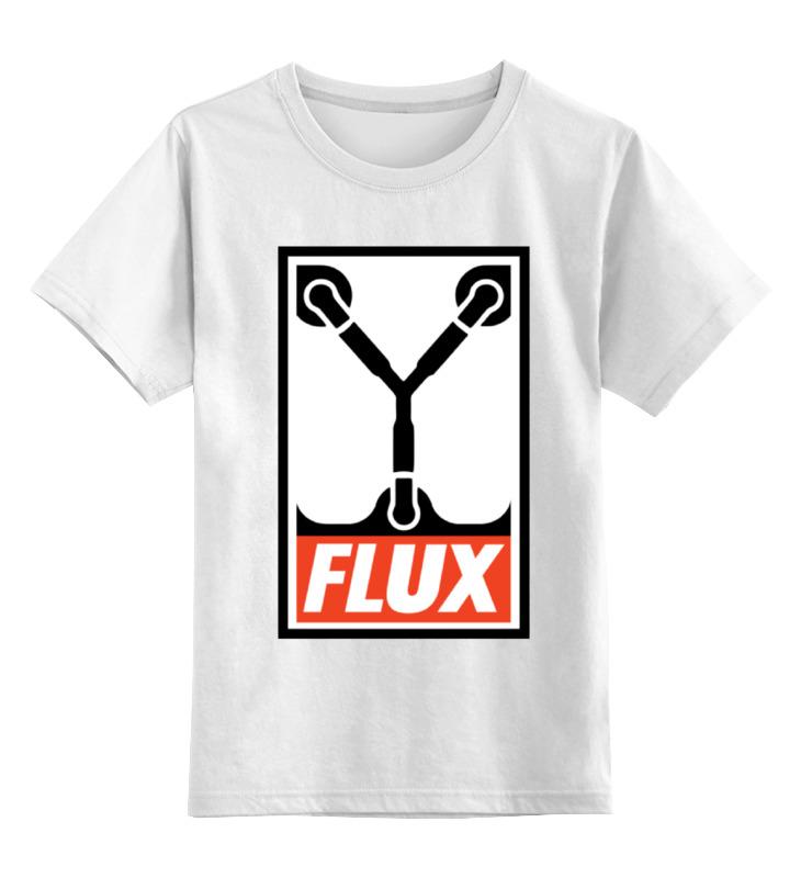 Фото Детская футболка классическая унисекс Printio Flux capacitor (назад в будущее)