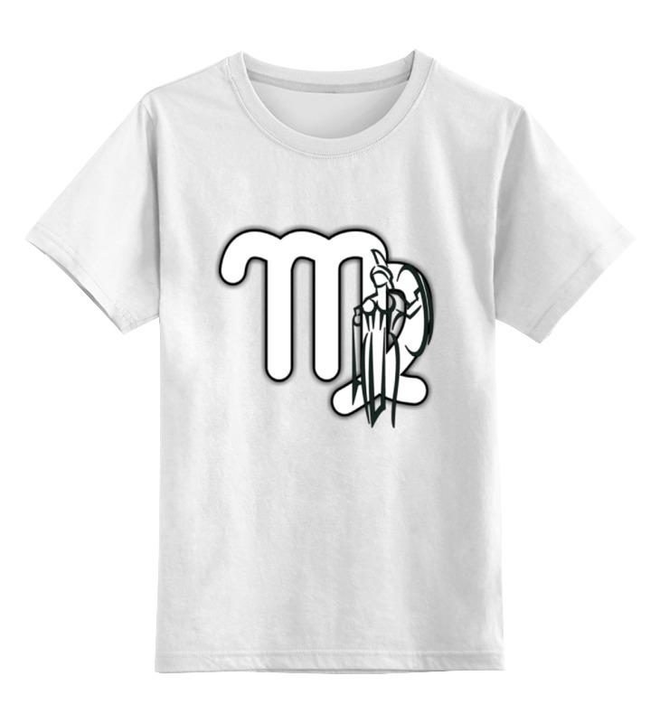 Детская футболка классическая унисекс Printio Знак зодиака дева. футболка классическая printio дева